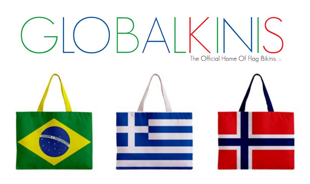 Globalkinis Presents Brand New #FlagToteBags! – 100% Pride ...